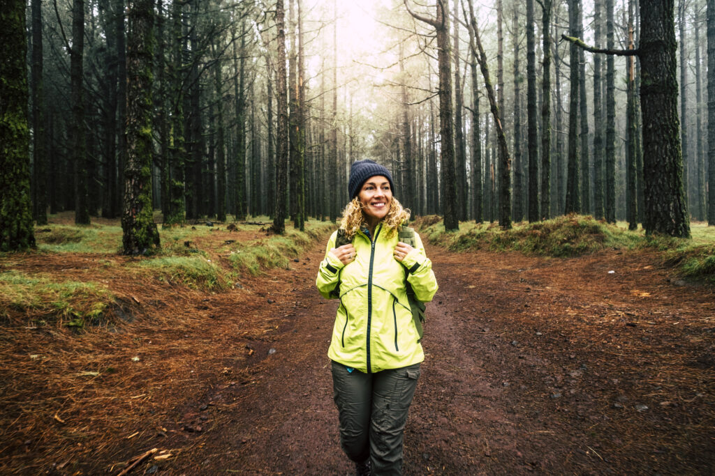 Pilgrim i skogen